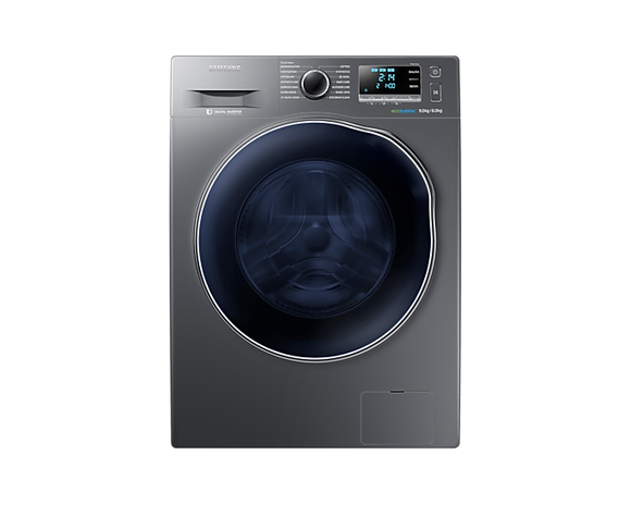 Samsung Washer Dryer with ecobubble™, 9/6kg (WD90J6410AX)