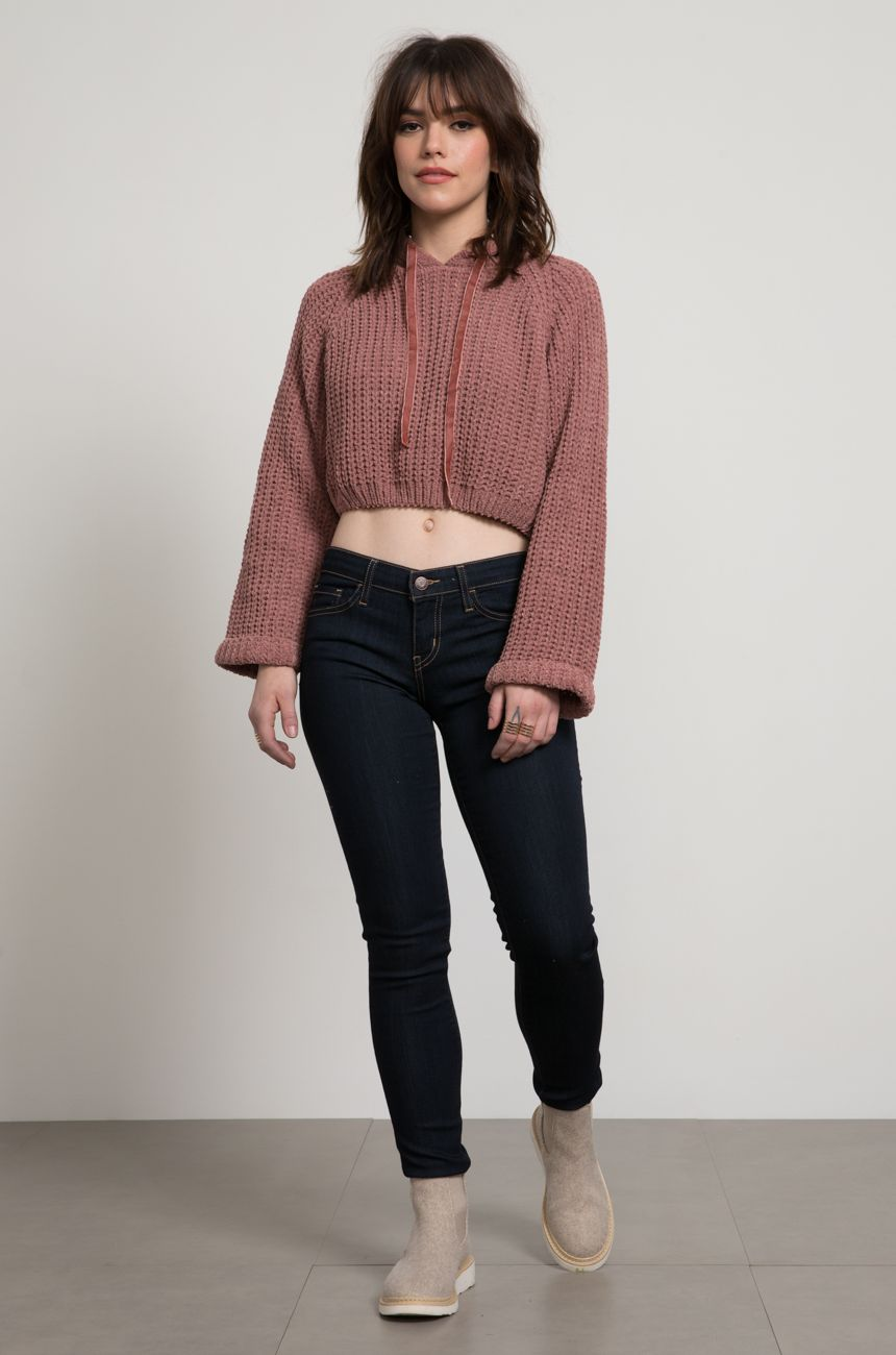 Alissa Cropped sweater