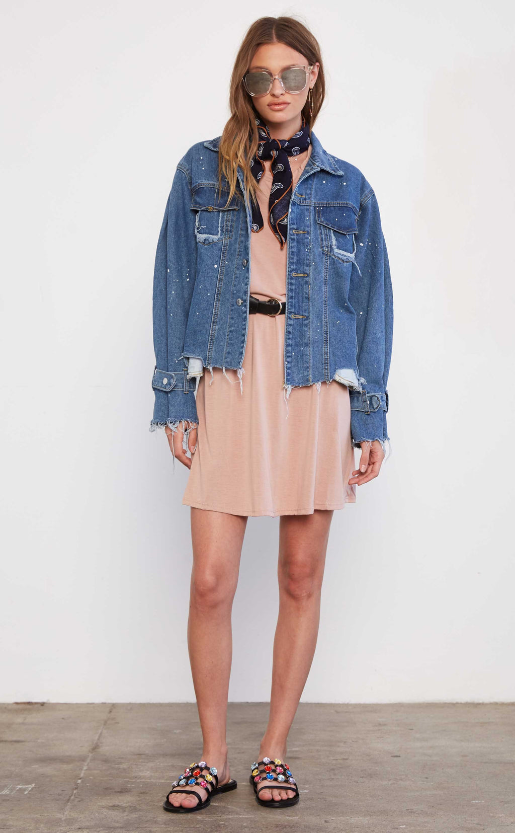 Sadie & Sage Boyfriend Denim Jacket