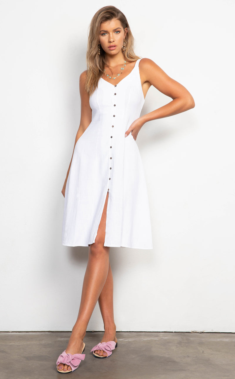 dee elly Cassidy Button Dress