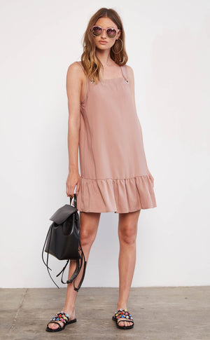 EVERLY Baby Doll Mini Dress