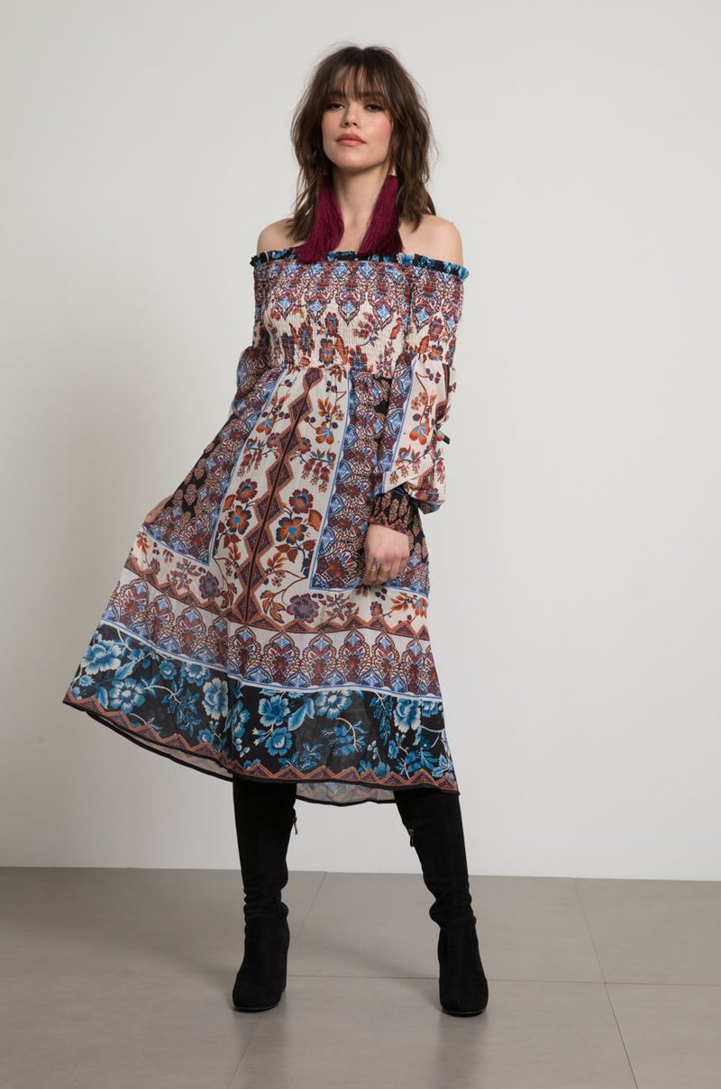 Dayna Paisley Dress