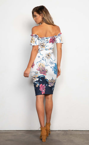 Seychelles Bodycon Midi Dress