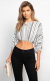 Dotty Crop Top