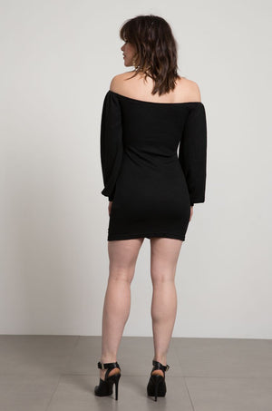 Selma Sinched Off the Shoulder Bodycon Dress