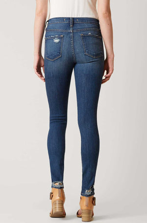 High Rise Skinny Stretch Jeans