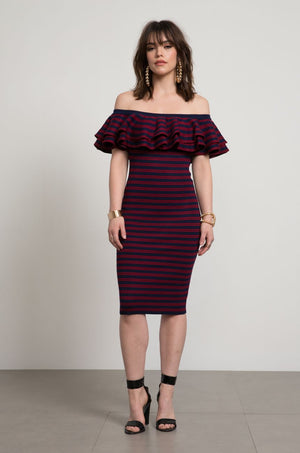 Roxy Off The Shoulder Bodycon Dress