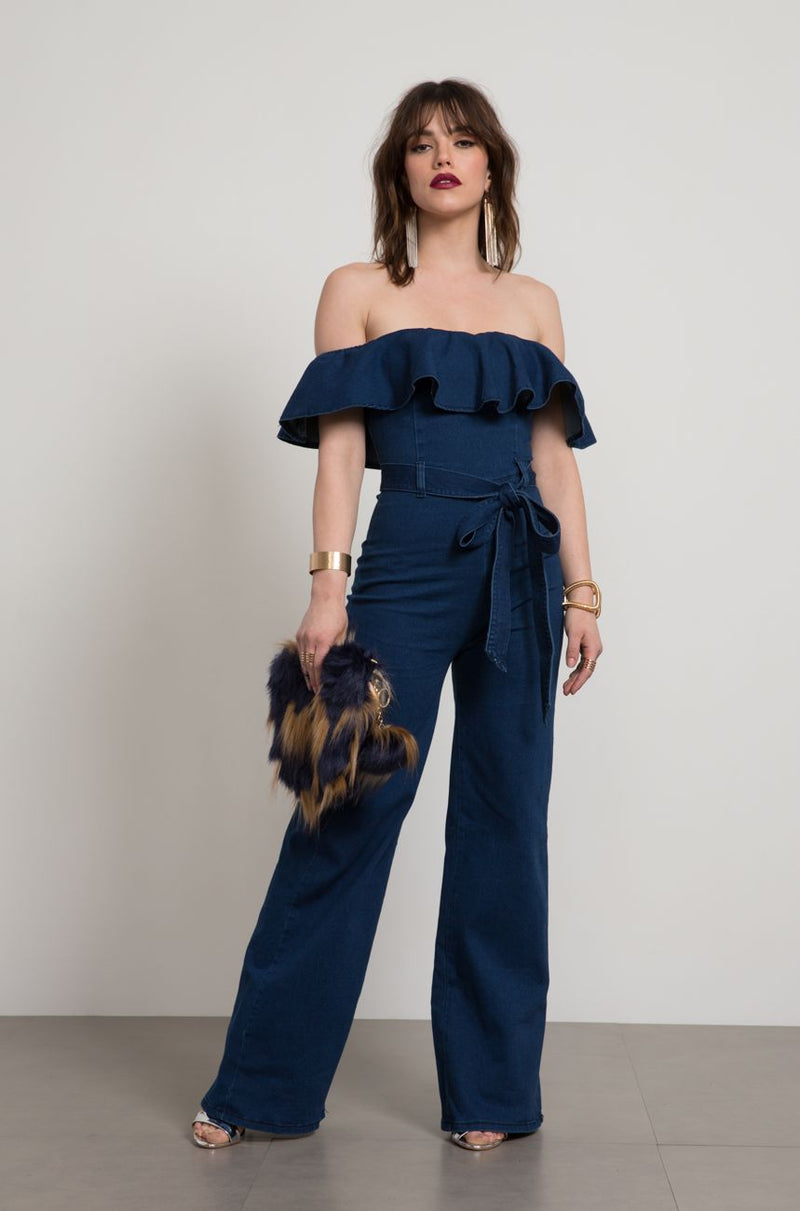 Zoe Denim Jumpsuit