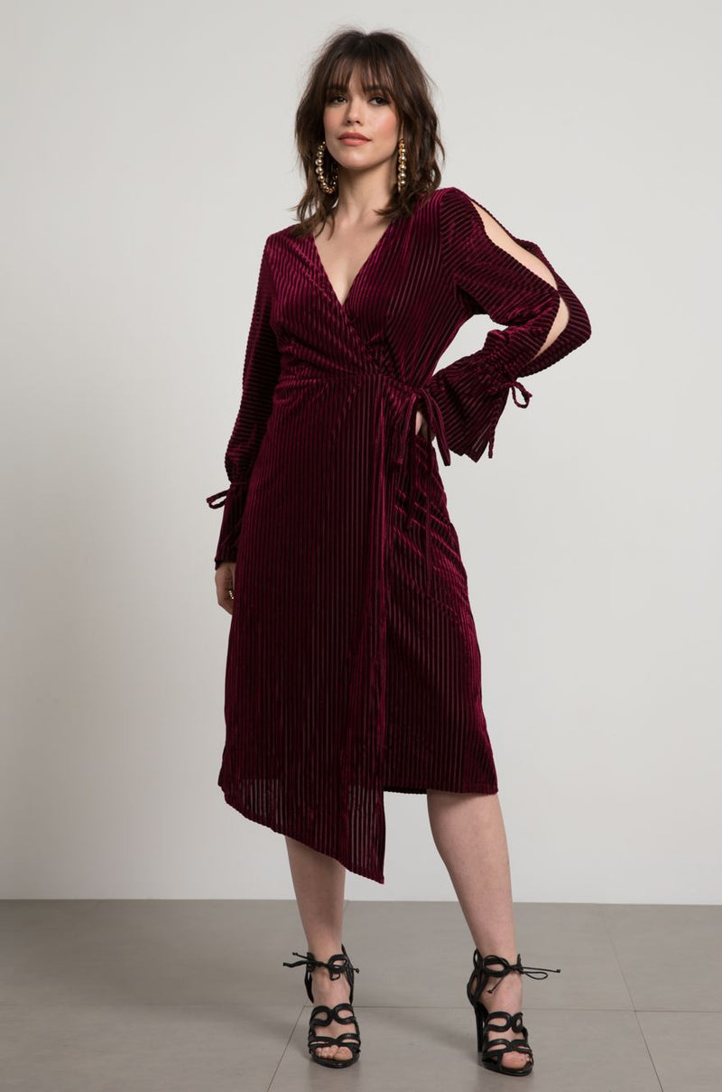 Stella Velvet Wrap Dress
