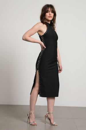 Wayne Bodycon Studded Dress