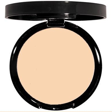 Cream color mineral powder makeup