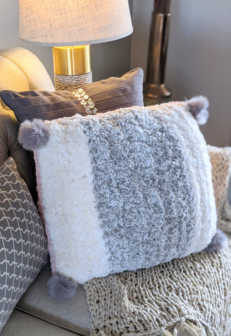 Fluffy Faux Fur Pillow