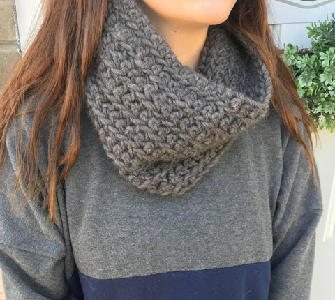 Small Gray Cowl