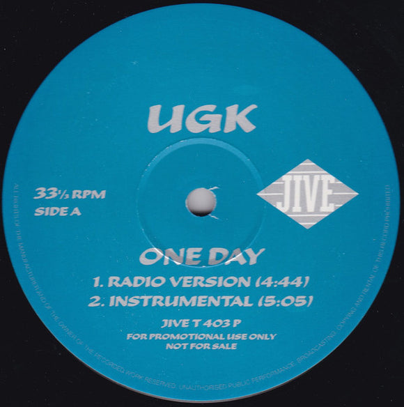 UGK - One Day / Ride My Car