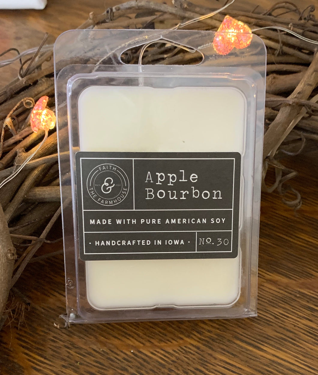 Apple Bourbon wax melt