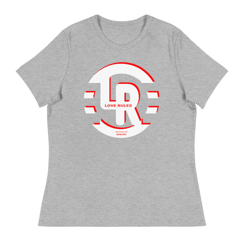 Red Shadow Women's Relaxed T-Shirt