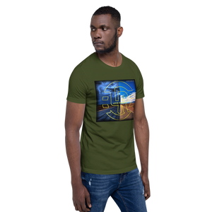 NIGHT AND DAY Short-Sleeve Unisex T-Shirt