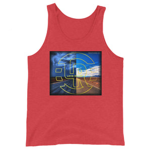 NIGHT AND DAY Unisex Tank Top