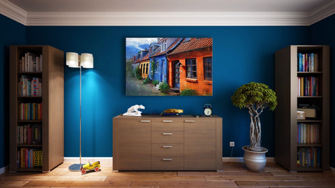 East West North South colour choosing for feng shui
