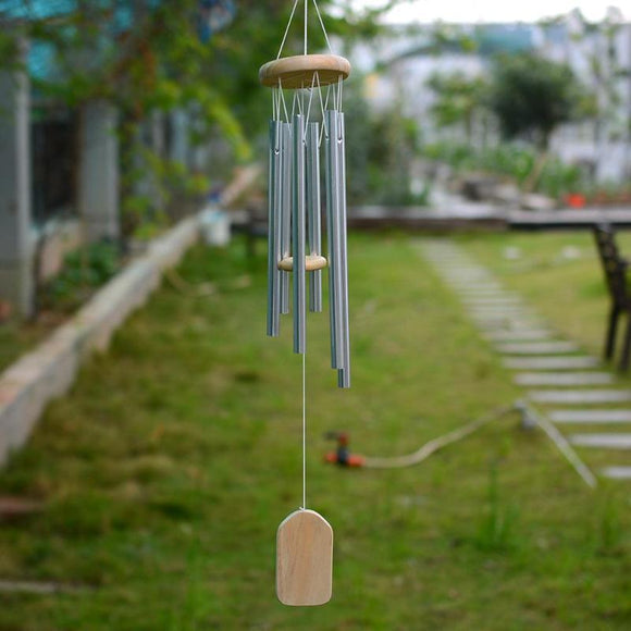 Feng Shui 6-tube Wind Chime - The Living Naga