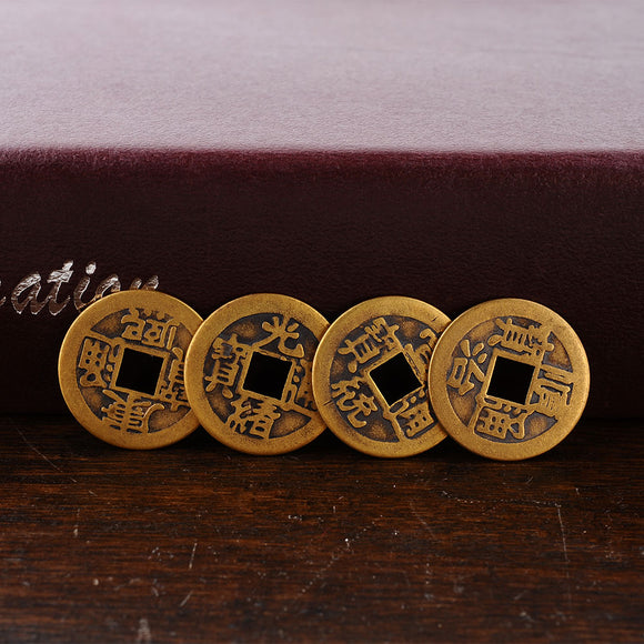 Ancient Chinese Feng Shui Coins (I-Ching Coins) - The Living Naga