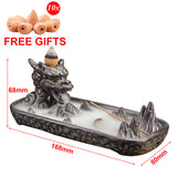 Dragon Mountain Backflow Incense Burner - The Living Naga
