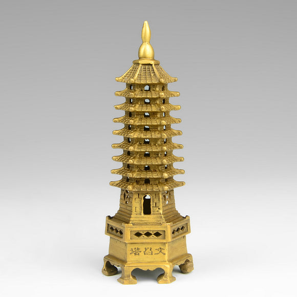 Feng Shui Nine-level Wisdom Pagoda - The Living Naga