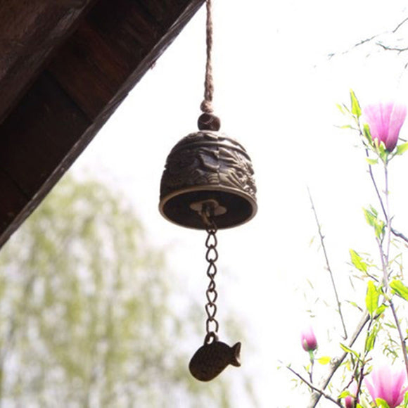 Feng Shui Blessing Bell - The Living Naga