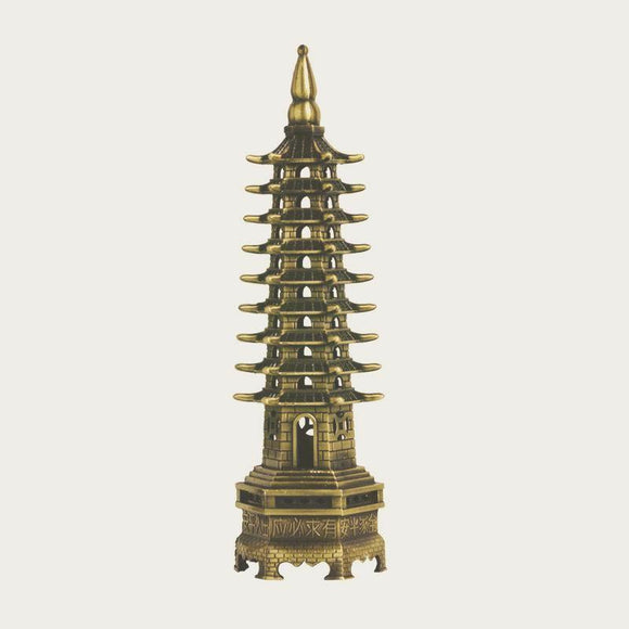 Nine-level Wen Chang Pagoda - The Living Naga