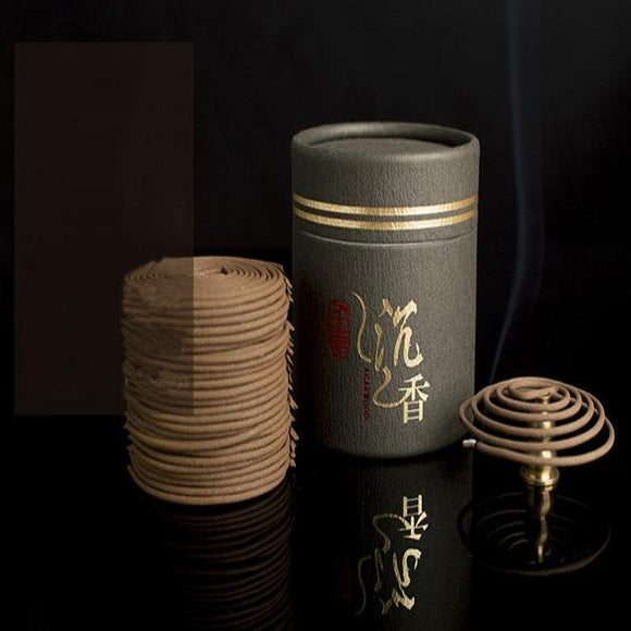 Natural Agilawood Coil Incense - The Living Naga