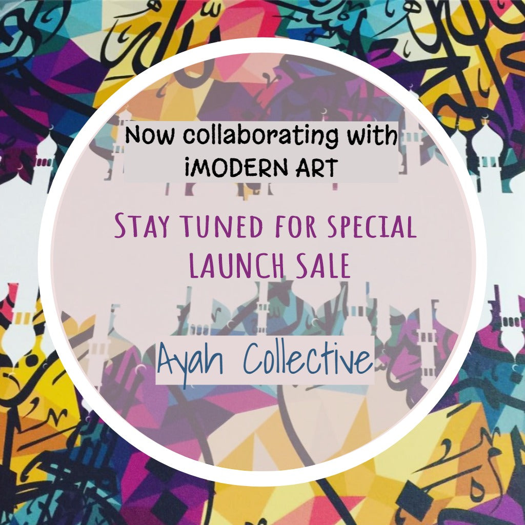 Ayah Collective is Proud to be Partnering with iModernArt!