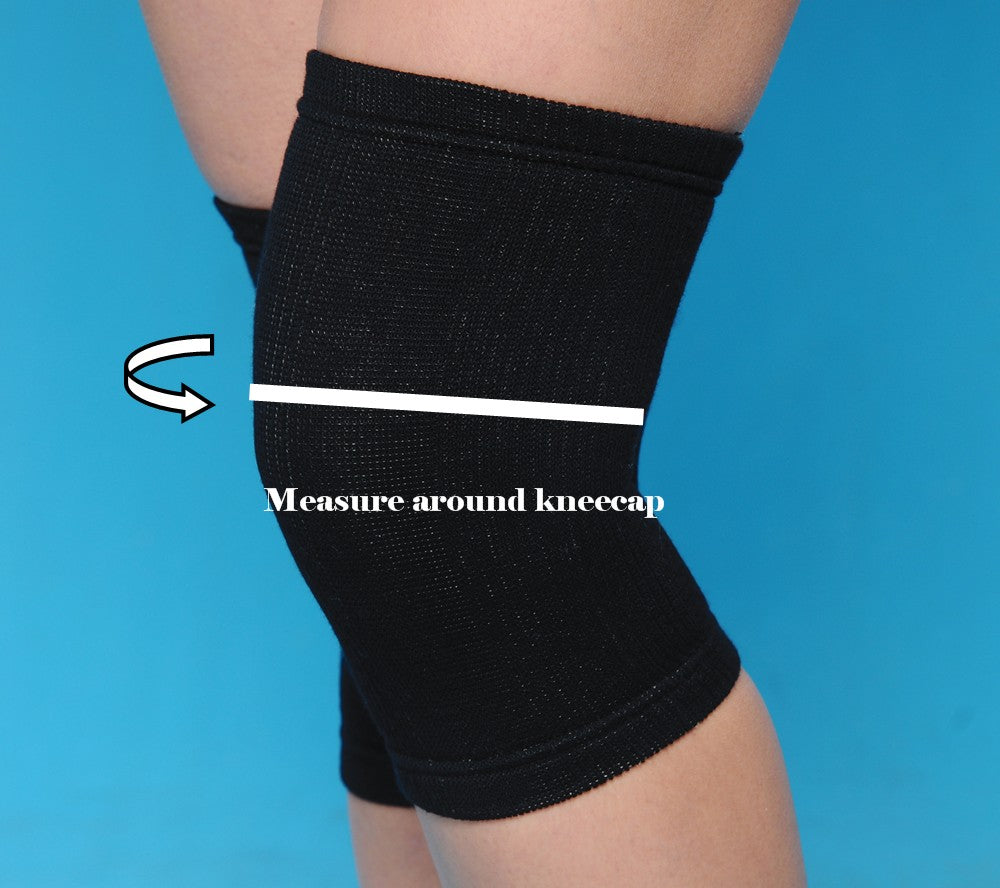 105 Knee Standard (BLK) - Cozy Support