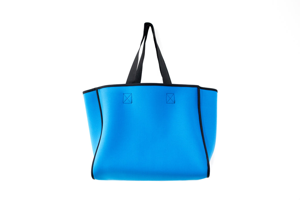 PUNCH Neoprene Reversible Tote bag grey/blue