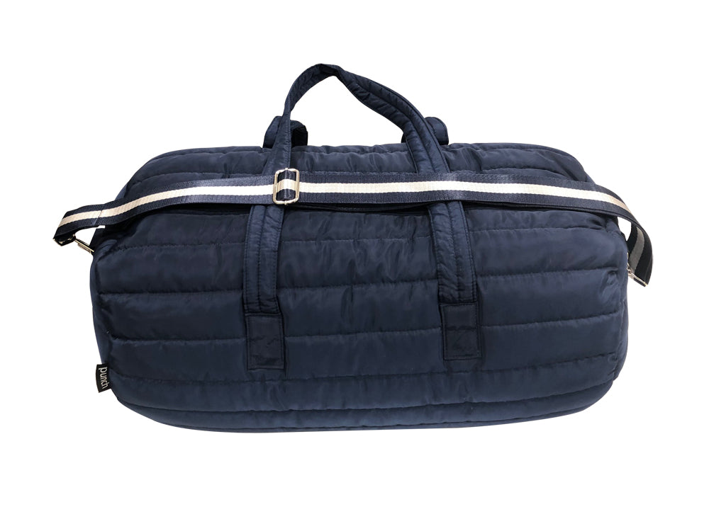 PUNCH Puffer Travel/Gym Bag navy 61x31x30cm