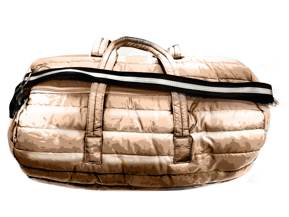 PUNCH Puffer Travel/Gym Bag rose gold 61x31x30cm