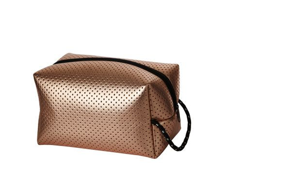 PUNCH Neoprene Wet Pack Metallic Rose Gold 24x14x14cm