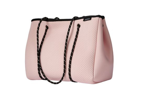 PUNCH Neoprene Tote Bag Pink 34x26x16cm