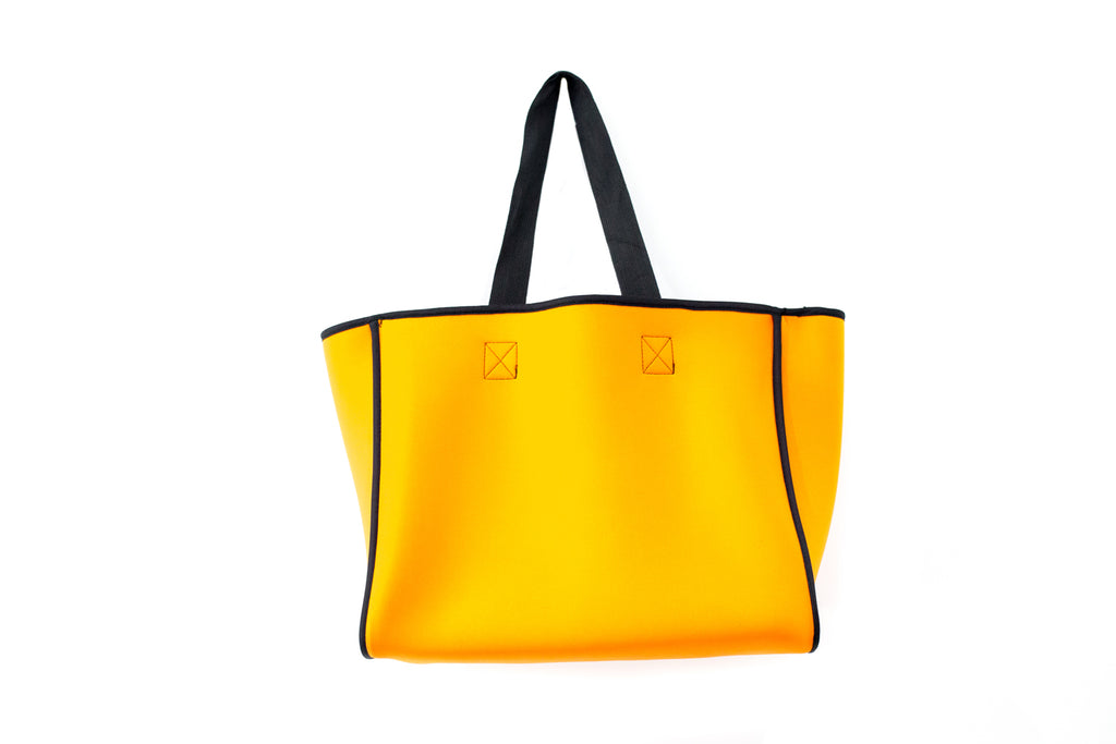 PUNCH Neoprene Reversible Tote bag navy/orange 42x34x20cm