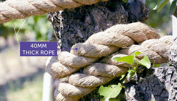 thick 40mm rope for cats climbing and scratching and playing on
