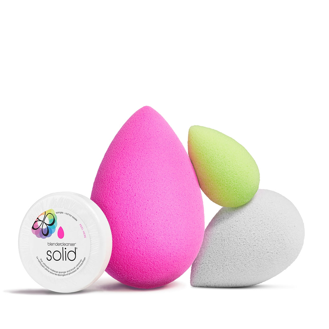 beauty blender, original, all about face, make up, wet, squeeze, bounce, foundation, cream, makeup blender