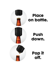 Push Down Automatic Magnetic Beer Bottle Opener