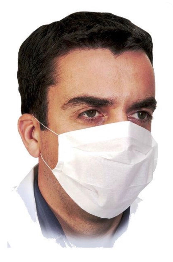 Mask Disposable Hygienic Face -2 Ply - Paper Non-woven