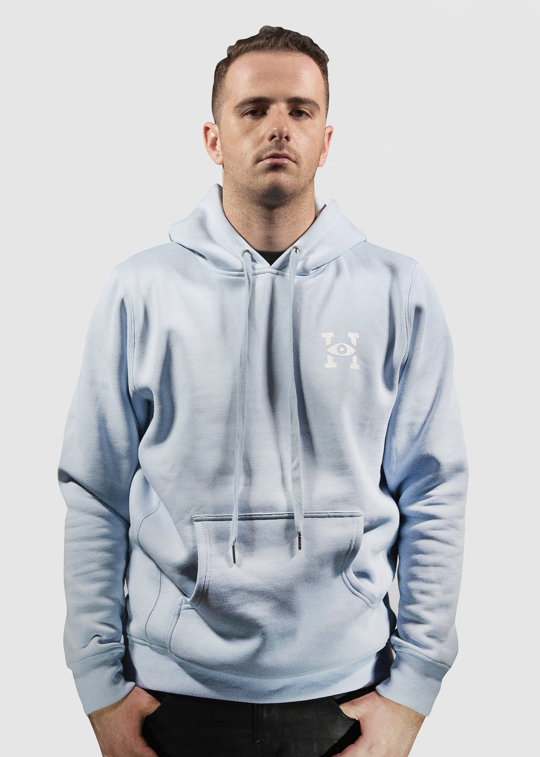 Bite The Bullet Hoodie (Baby Blue)
