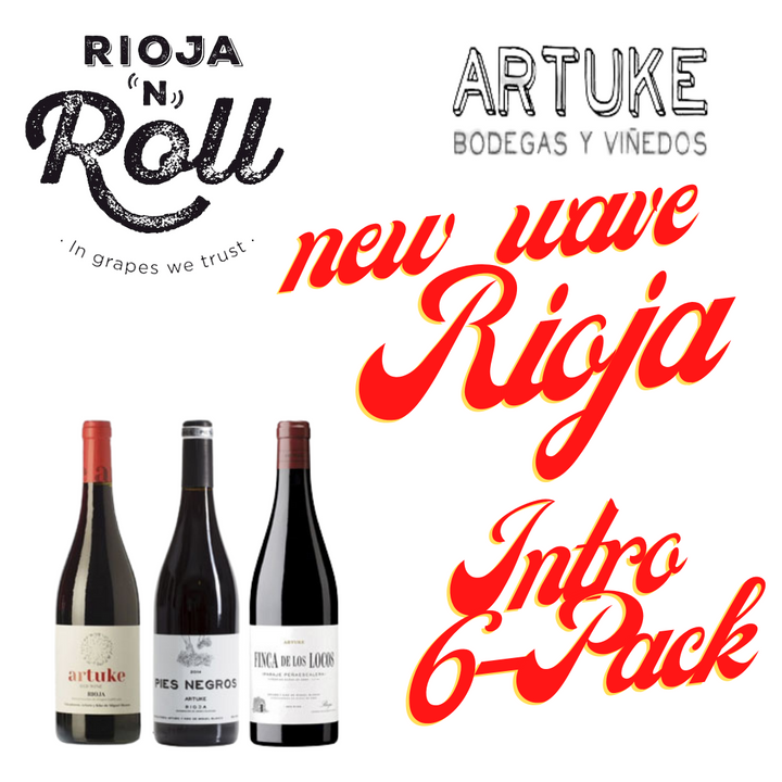 Artuke Rioja 'N' Roll Intro 6-Pack - Station to Station Wine