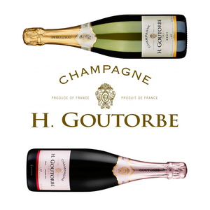 Mum's Bubbles: Henri Goutorbe Grand Cru Champagne Twin Pack in Display Case - Station to Station Wine