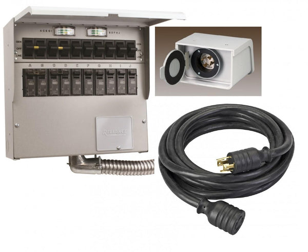 Reliance 310CDKN Indoor Transfer Switch Kit (30A)