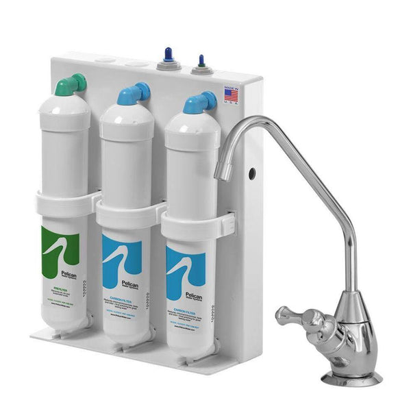 3-Stage Under Counter Drinking Water Filter