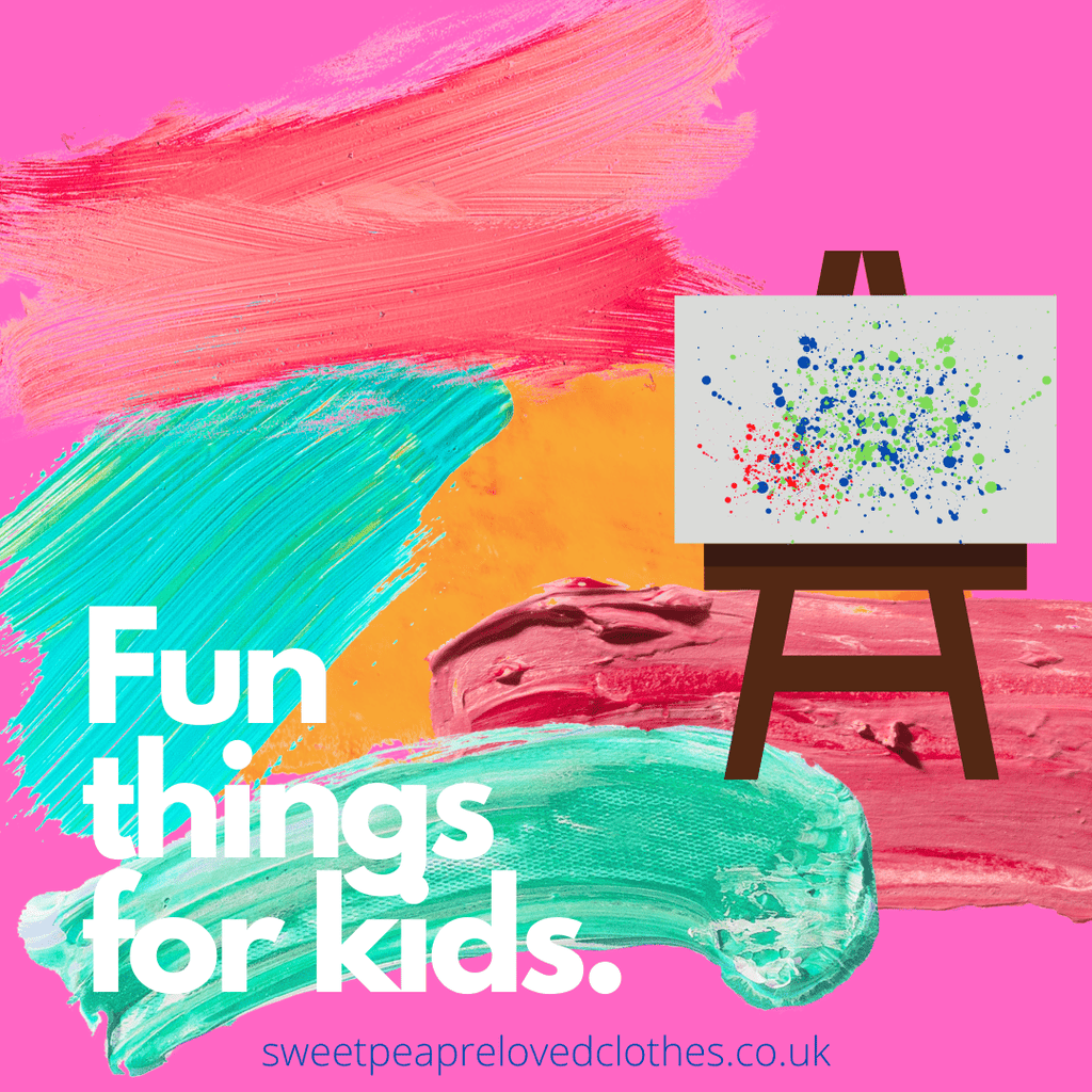 Fun things for kids. Art Edition. - Sweet Pea Preloved Clothes
