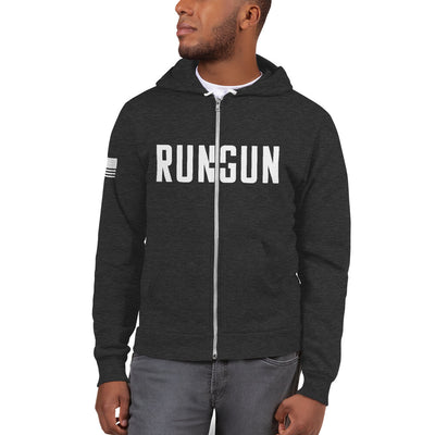 Run and Gun Zip Hoodie