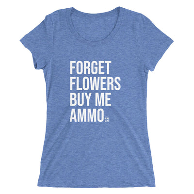 Buy Me Ammo Ladies T-shirt